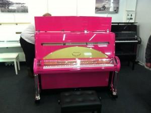 Das rosa Klavier