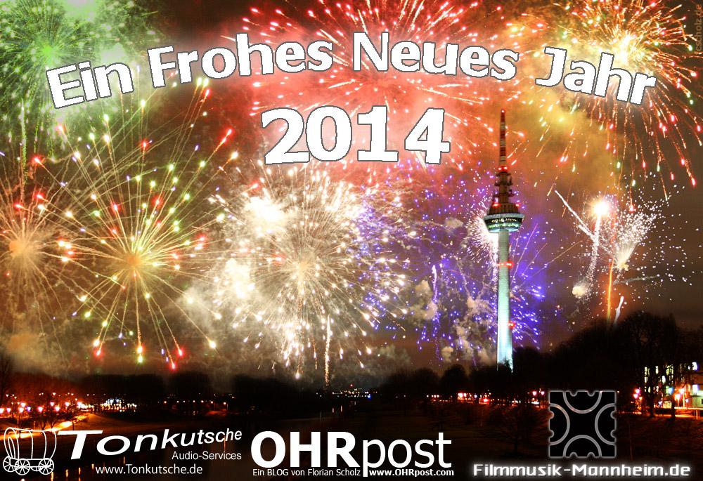 Frohes Jahr 2014