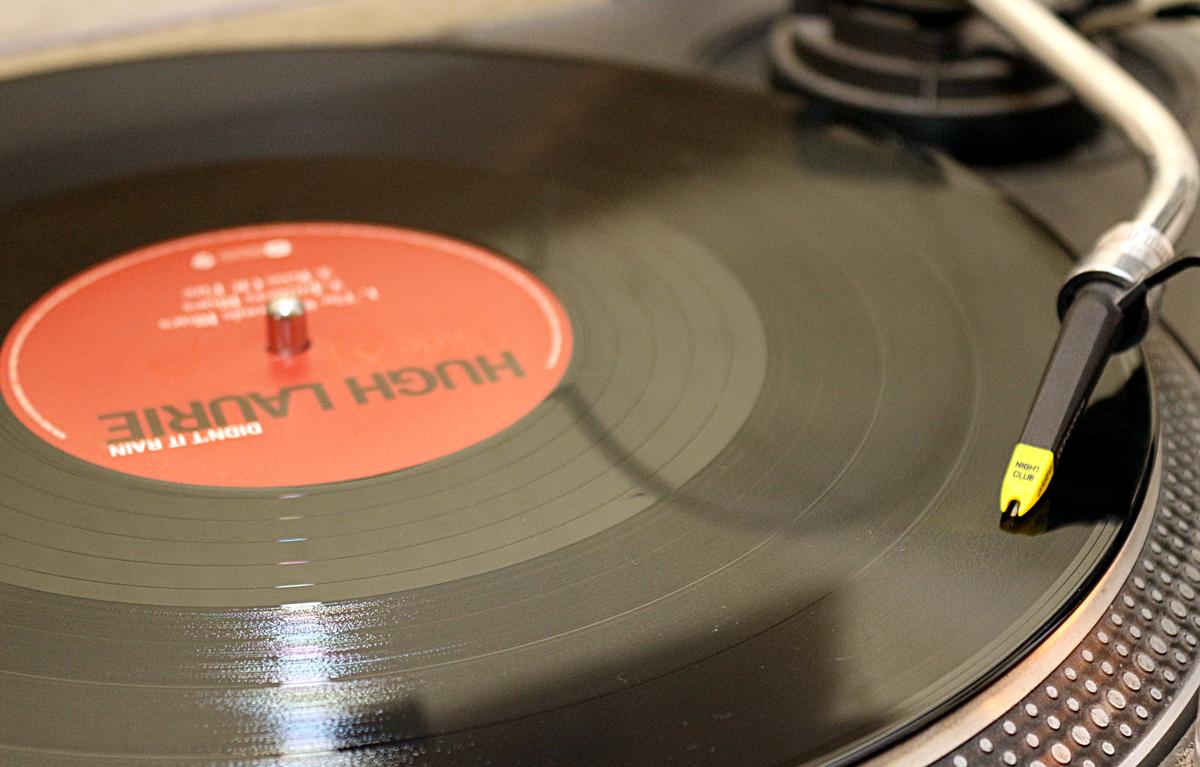 Das neue Album von Hugh Laurie auf meinem 1210er