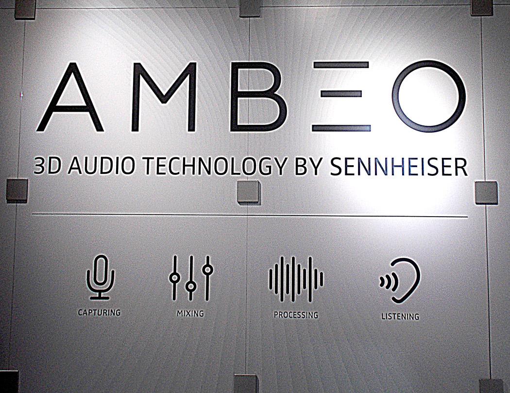 Ambeo 3D Audio by Sennheiser