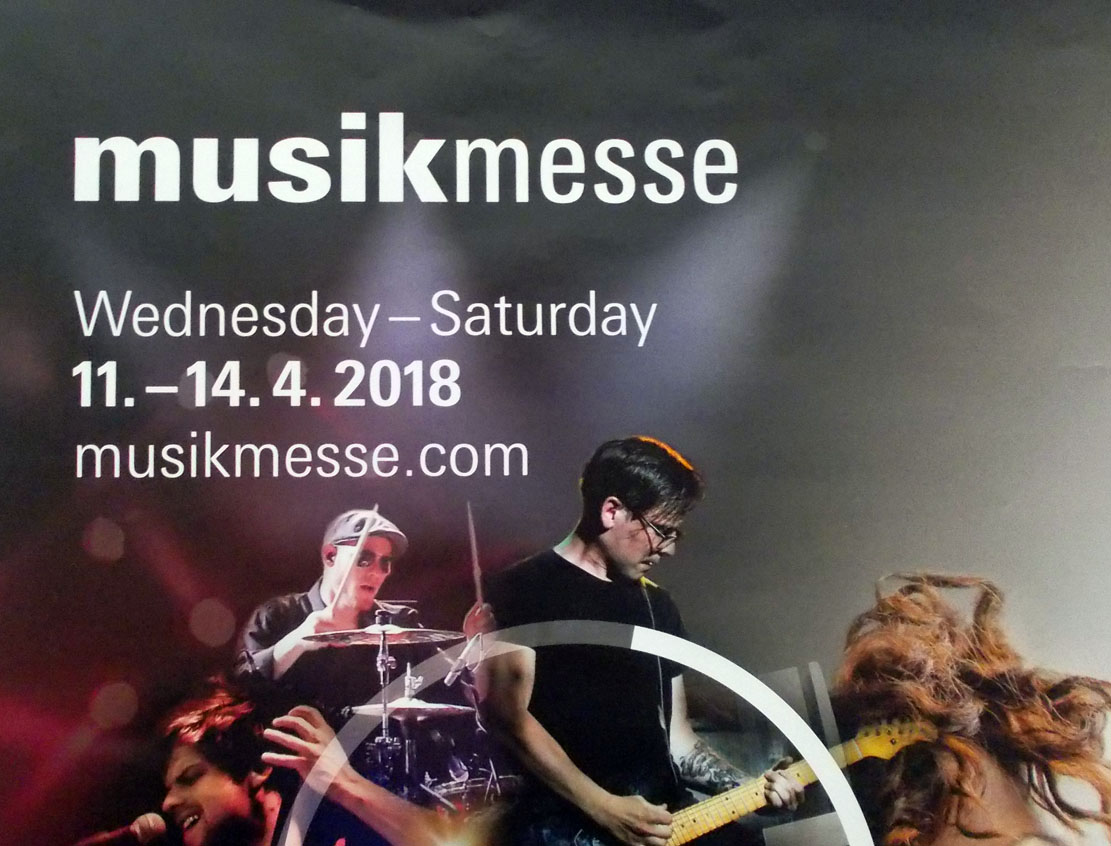 Musikmesse 2018: 11.-14. April 2018
