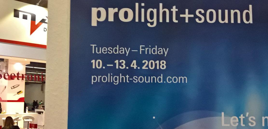 Die Proligt'n'Sound 2018: 10.-13. April 2018