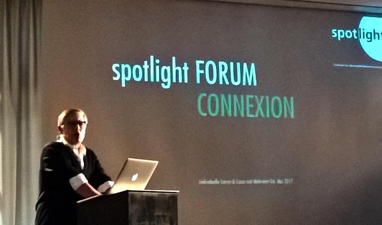 Michael Preiswerk eröffnet das Spotlight Forum