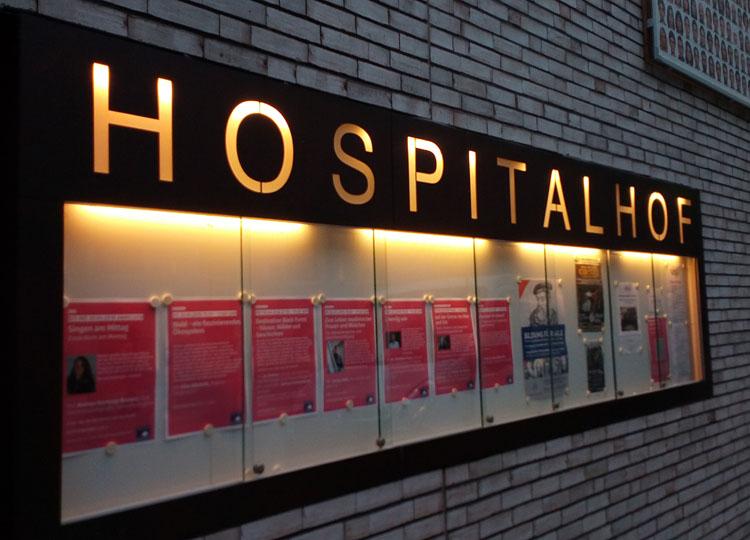 Die Gala dieses Jahr wieder im Hospitalhof