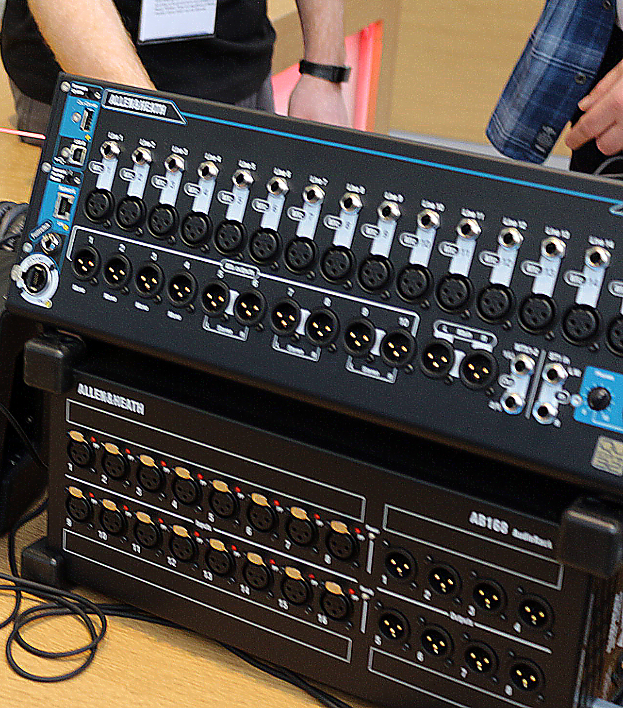 Allen & Heath neue Stagebox