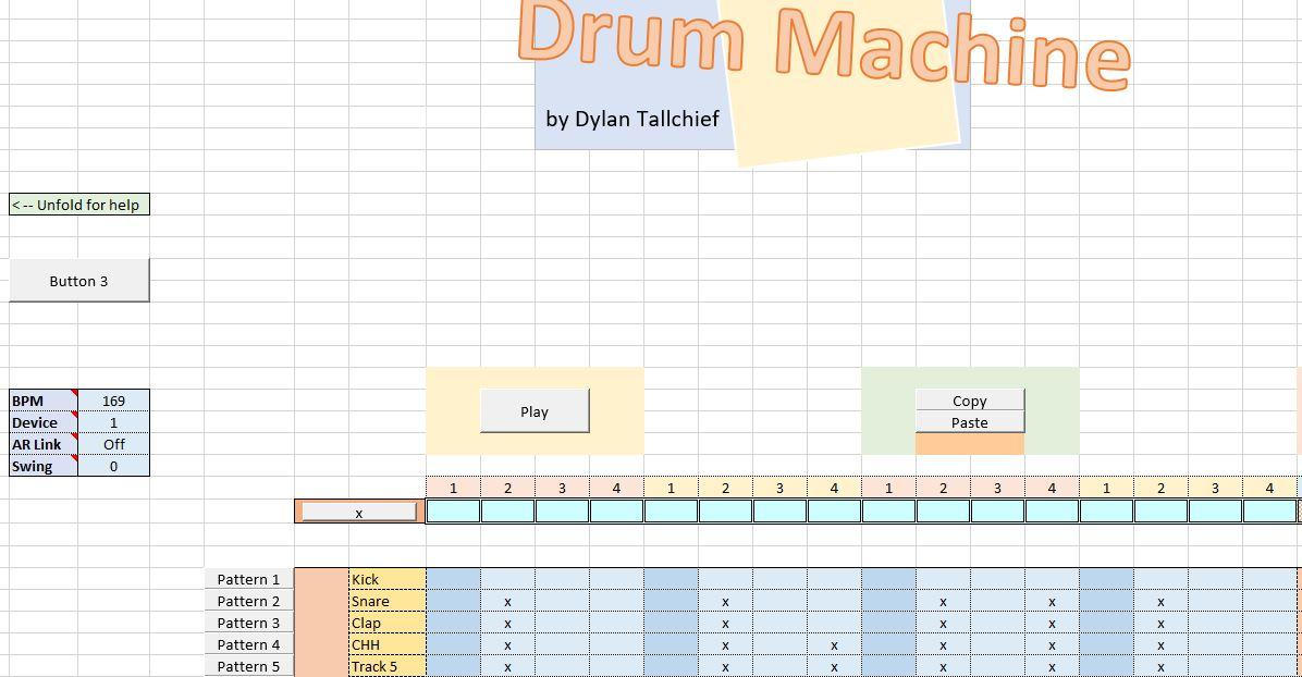 xlStudio: Der Großvater, die Drum Machine